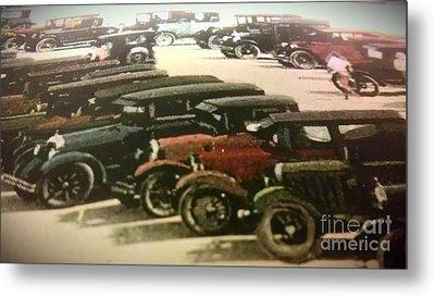 1920's Autos Metal Print