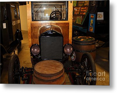 1921 Ford Model T Snowmobile 5d25582 Metal Print by Wingsdomain Art and Photography