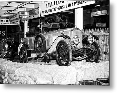 Metal Print featuring the photograph 1921 Vauxhall 30/98e by Boris Mordukhayev