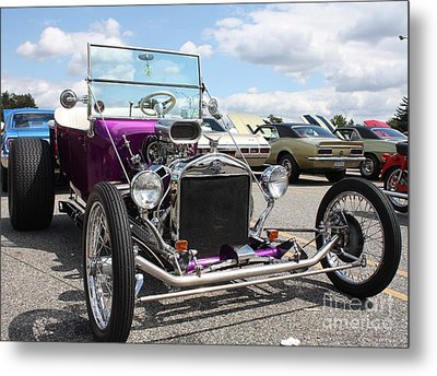1923 Ford Model T Convertible Roadster Metal Print by John Telfer