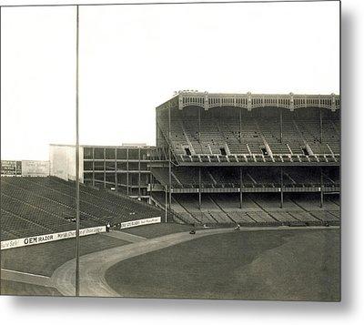 1923 Yankee Stadium Metal Print by Underwood Archives