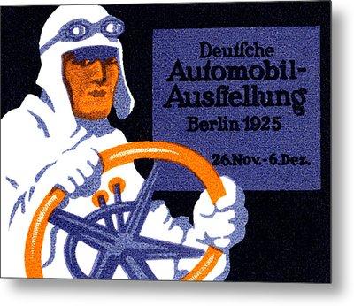 1925 Berlin Car Show Metal Print by Historic Image