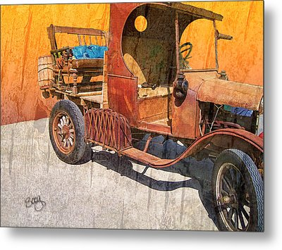1925 Ford Truck Metal Print by Larry Bishop