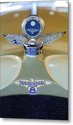 1926 Duesenberg Model A Boyce Motometer Metal Print