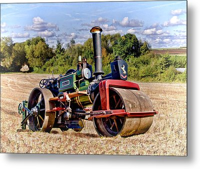 1929 Aveling Roller  Metal Print by Paul Gulliver