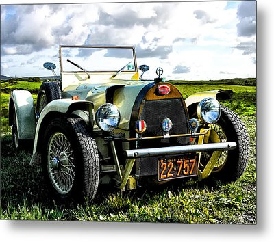 1929 Bugatti Metal Print by Bill Cannon
