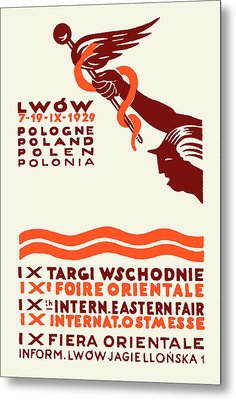 1929 Lwow Eastern International Fair  Metal Print by Historic Image