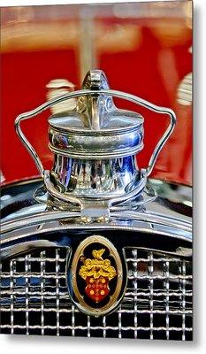 1929 Packard 8 Hood Ornament 2 Metal Print