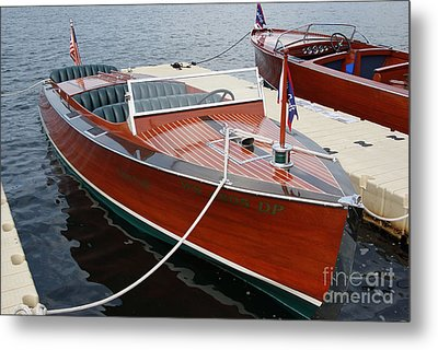 1930 Chris Craft Metal Print