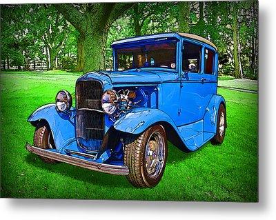 1930 Ford Metal Print by Richard Farrington