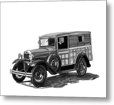 1930 Ford Special Delivery Metal Print by Jack Pumphrey
