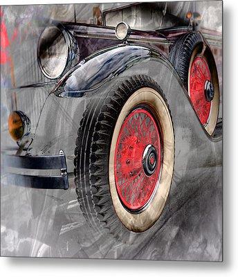 1930 Packard Metal Print by Richard Farrington