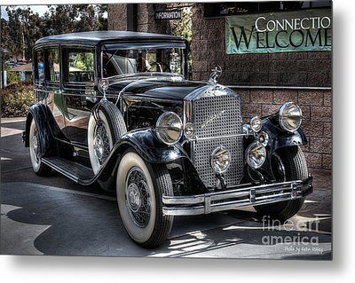 1931 Pierce Arrow Metal Print by Kevin Ashley
