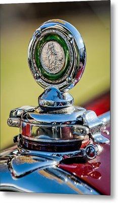 1932 Alfa Romeo 6c 1750 Series V Gran Sport Hood Ornament -0240c Metal Print