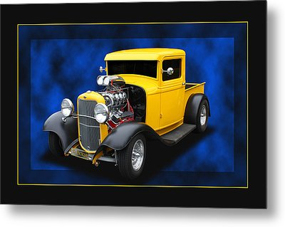 Metal Print featuring the photograph 1932 Pickup by Keith Hawley