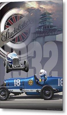 1932 Studebaker Indy Metal Print