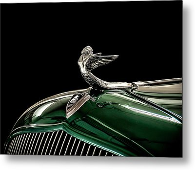 1933 Plymouth Mascot Metal Print by Douglas Pittman