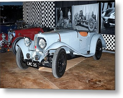 1934 Aston Martin 1.5 Liter Mk. II Metal Print by Boris Mordukhayev