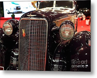 1934 Cadillac V16 Aero Coupe - 5d19876 Metal Print by Wingsdomain Art and Photography