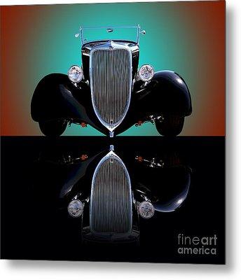 1934 Ford Phaeton Convertible Metal Print by Jim Carrell