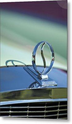 1934 Studebaker Hood Ornament Metal Print by Jill Reger