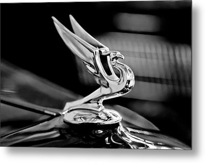 1935 Chevrolet Hood Ornament 3 Metal Print by Jill Reger