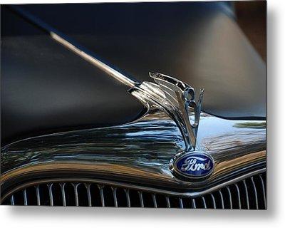 1935 Ford V8 Emblem  Metal Print