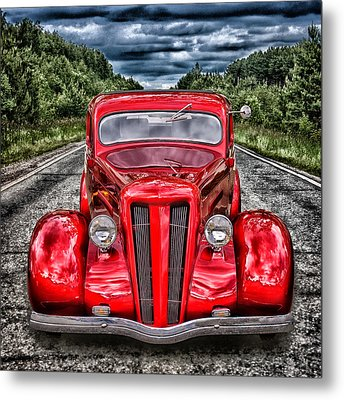 1935 Ford Window Coupe Metal Print
