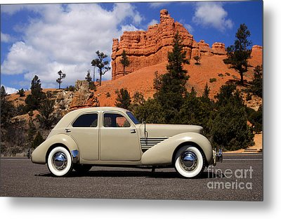 1936 Cord 810 Westchester Metal Print
