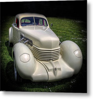 Metal Print featuring the photograph 1936 Cord Automobile by Thom Zehrfeld