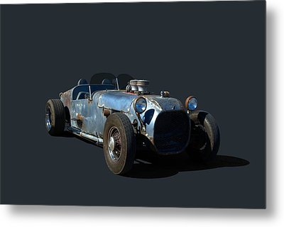 Metal Print featuring the photograph 1936 Ford Speedster by Tim McCullough