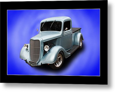 Metal Print featuring the photograph 1936 Pickup by Keith Hawley