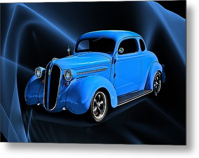 1936 Plymouth Coupe Metal Print