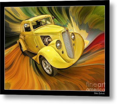 1936 Willys Metal Print