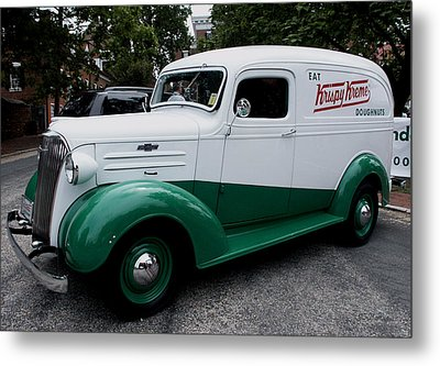 1937 Chevy Delivery Van Metal Print by James C Thomas