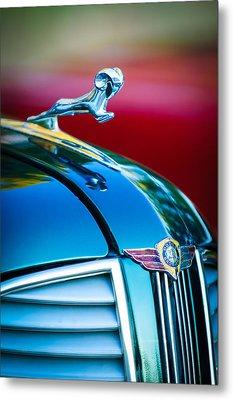 1937 Dodge Hood Ornament - Emblem Metal Print