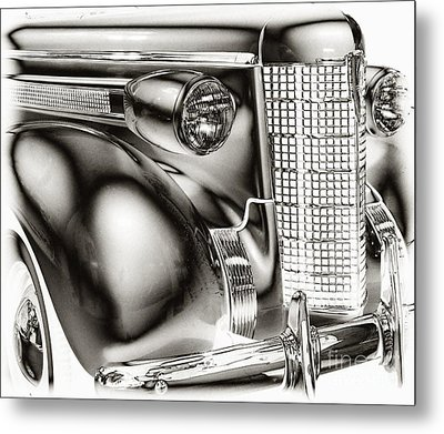 1937 Olds Metal Print by JRP Photography