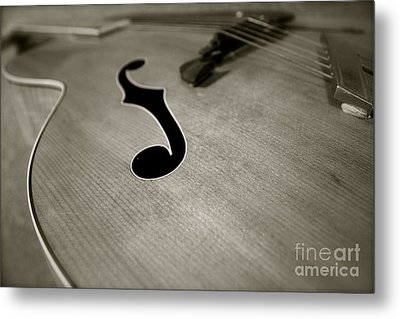 Metal Print featuring the photograph 1938 Acoustic Archtop by Paul Cammarata