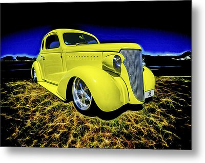 1938 Chevrolet Coupe Metal Print by motography aka Phil Clark