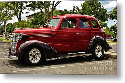 1938 Chevy 4 Door Sedan Metal Print by Craig Wood