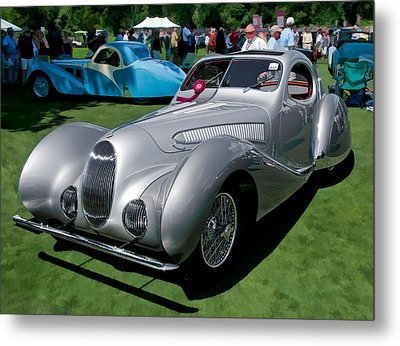 1938 Darracq/talbot Lago T150c Metal Print by James Howe