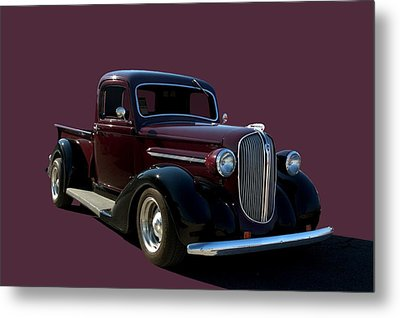 1938 Plymouth Hot Rod Pickup Truck Metal Print by Tim McCullough
