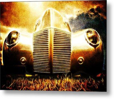1939 Ford Roadster Metal Print