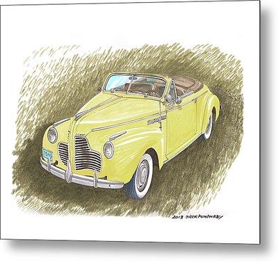 1940 Buick Super Convertible Metal Print by Jack Pumphrey