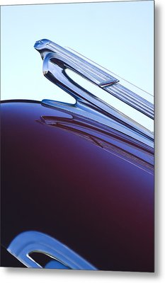 1940 Chevrolet Hood Ornament Metal Print