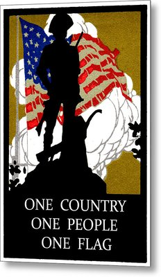 1940 One Country Metal Print