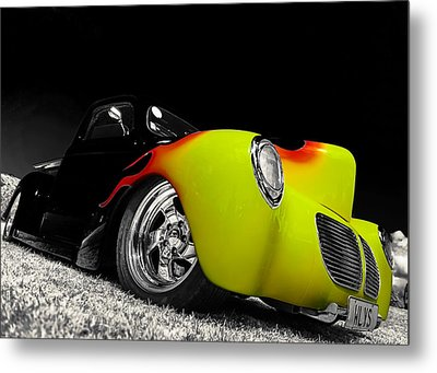 1940 Willys Pickup Metal Print by motography aka Phil Clark