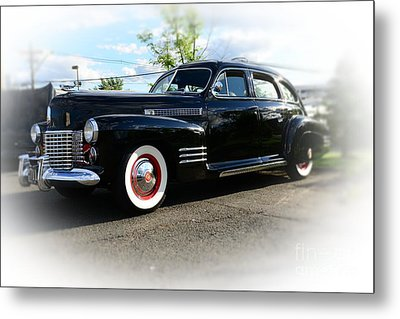 1941 Cadillac Coupe Metal Print by Paul Ward