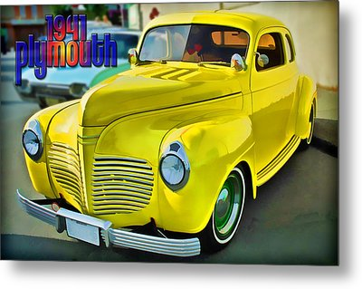 1941 Plymouth Metal Print