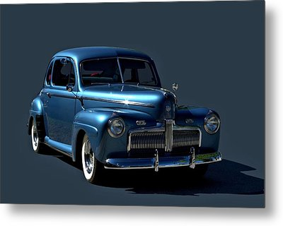 Metal Print featuring the photograph 1942 Ford Coupe by Tim McCullough